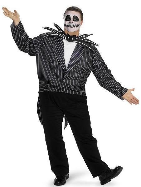 Nightmare Before Christmas Adult Plus Jack Skellington Costume
