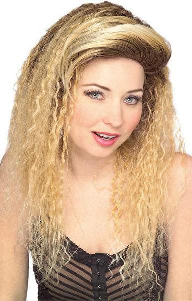 Adult Blonde Jersey Girl Wig