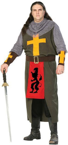 Noble Crusader Adult Plus Costume