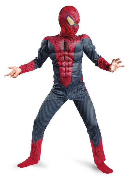 Kids Amazing Spider-Man Muscle Costume