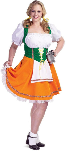 Beer Garden Girl Adult Plus Costume