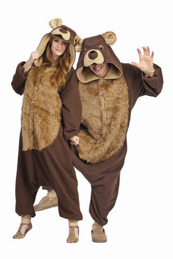 Adult Bailey Bear Costume