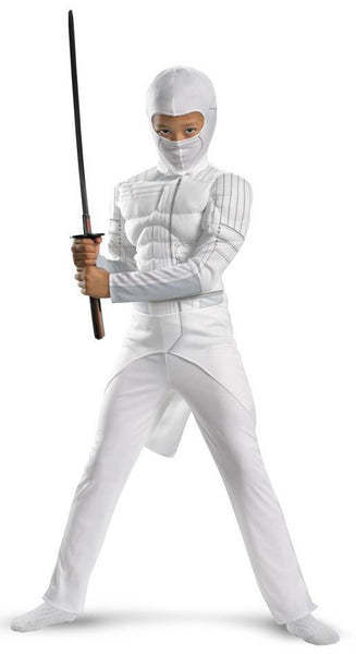 Kids Muscle Storm Shadow Costume