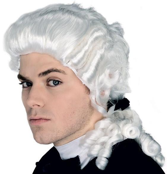 Adult Colonial Man Wig