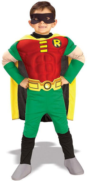 Child Robin Deluxe Muscle Costume