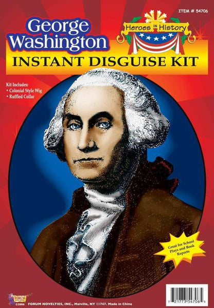Adult George Washington Wig Kit