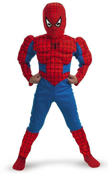 Kids Spiderman Muscle Costume
