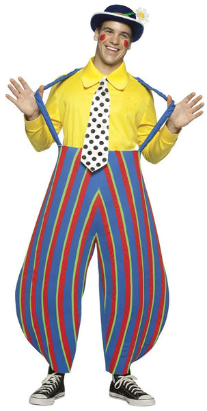 Adult Stripey the Clown Costume