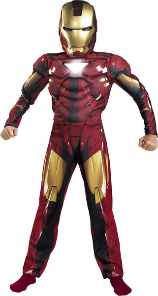 Kids Iron Man Mark VI Muscle Costume
