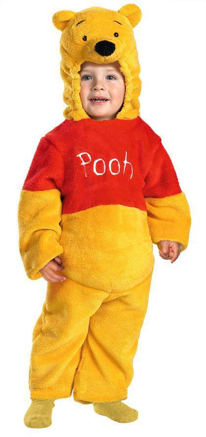 f768d956e9bb Toddler Winnie the Pooh Costume - Deluxe Two-Sided Plush ...