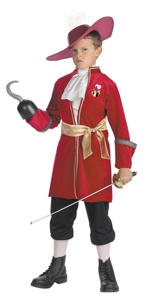 Kids Captain Hook Costume