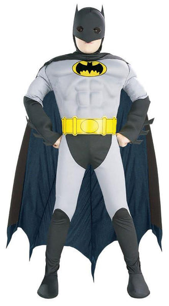 Kids Batman Muscle Deluxe Costume
