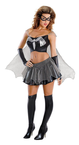 Adult Sassy Black-Suited Spider-Girl Prestige Costume
