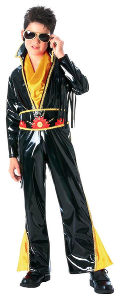 Kids Vinyl Rock Star Costume