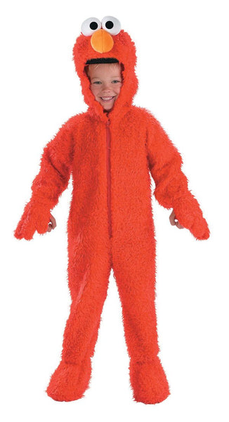 Kids Elmo Plush Deluxe Costume