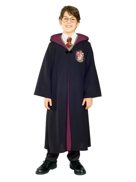 Kids Harry Potter Costume - Deluxe Gryffindor Robe