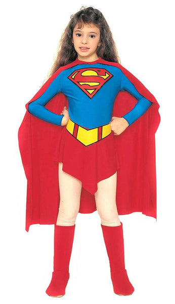 Super Girl Kids Costume
