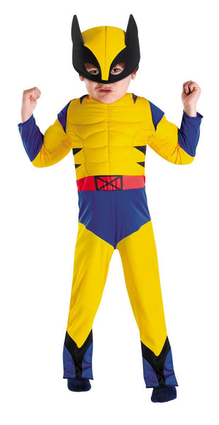 Toddler Wolverine Costume - Muscle Chest