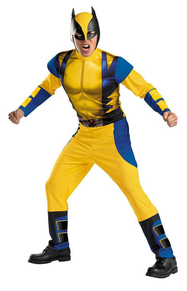 Adult Wolverine Origins Costume