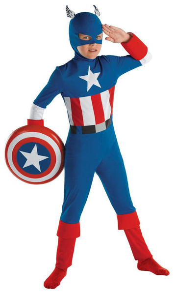 Kids Captain America Costume
