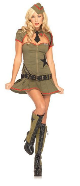 Adult Private Pin Up Costume