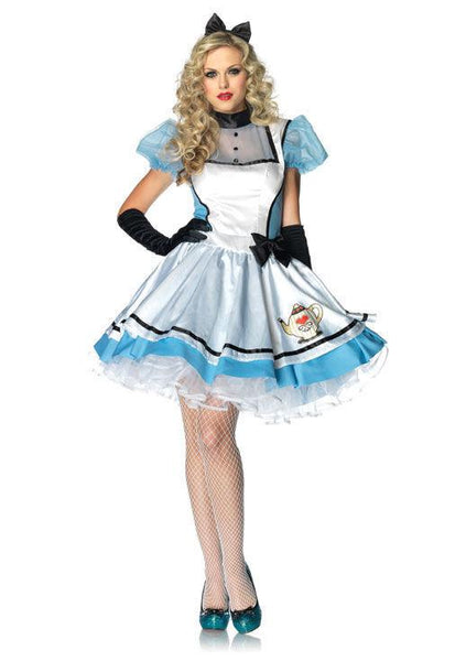 Adult Tea Time Alice in Wonderland Costume