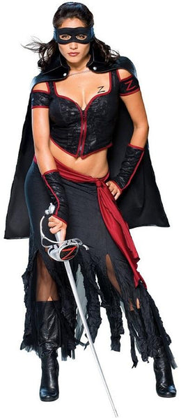 Adult Lady Zorro Costume  sc 1 st  Costume City & Women Costumes Tagged