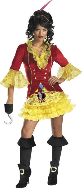Adult Captain Hook Sassy Costume