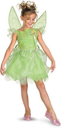Kids Tinkerbell & The Fairy Rescue Deluxe Costume