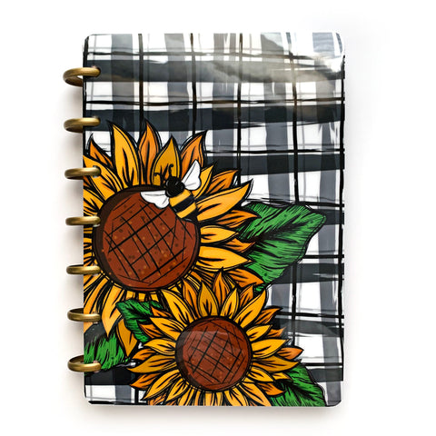 Sunflower Bee Cover