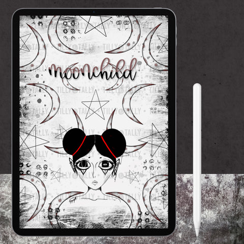 Moonchild Cover Paper
