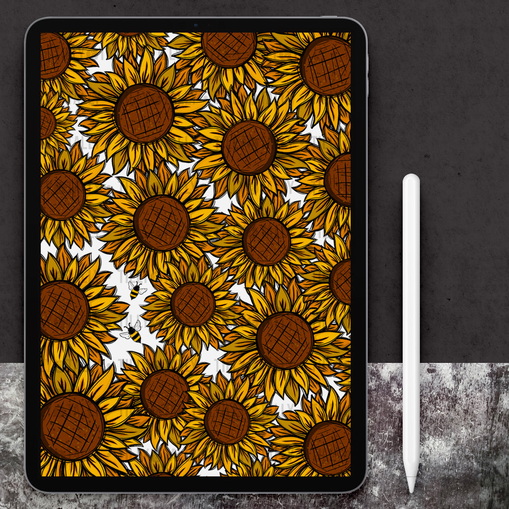 Sunflower Bouquet Paper