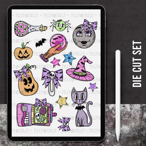 Pastel Halloween Digitals