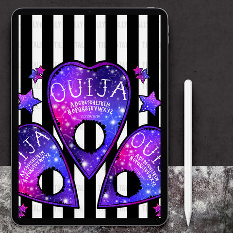 Galaxy Ouija Stripe Paper