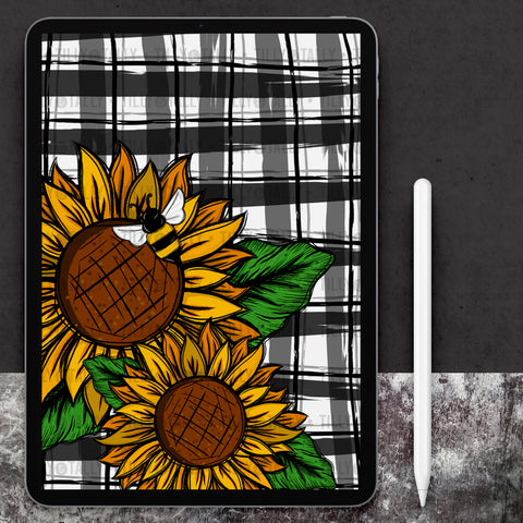 Sunflower Cover Paper