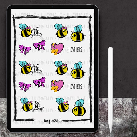 Bee Yourself Sticker Sheet