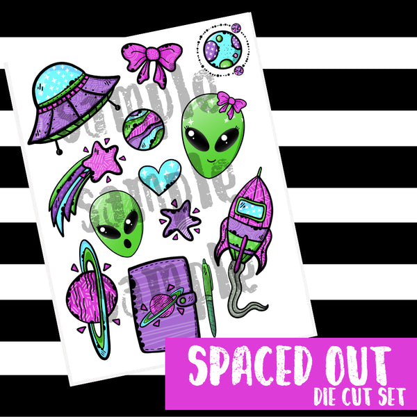 Spaced Out Digitals