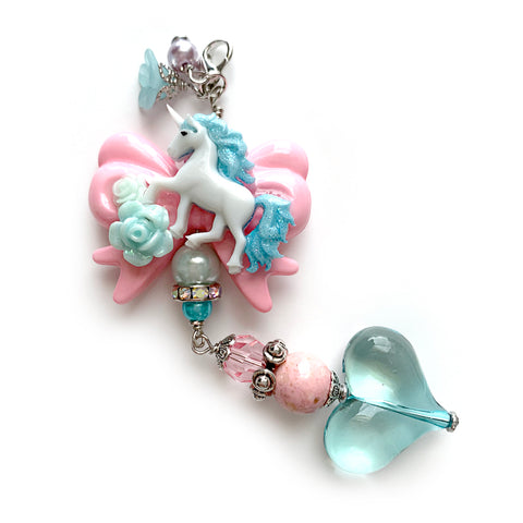 Unicorn Bow Charm