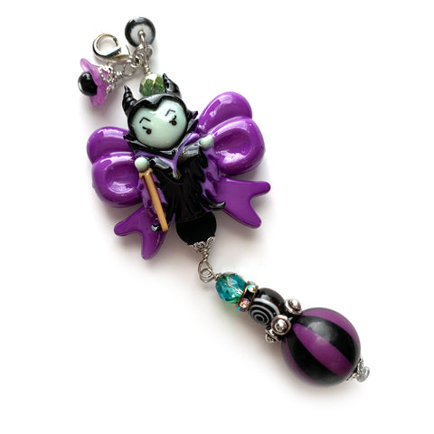 Maleficent Bow Charm