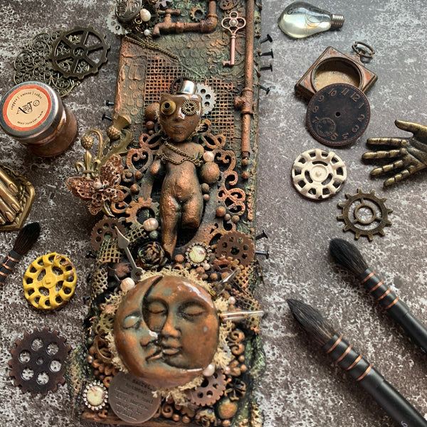 Steampunk Magic Canvas