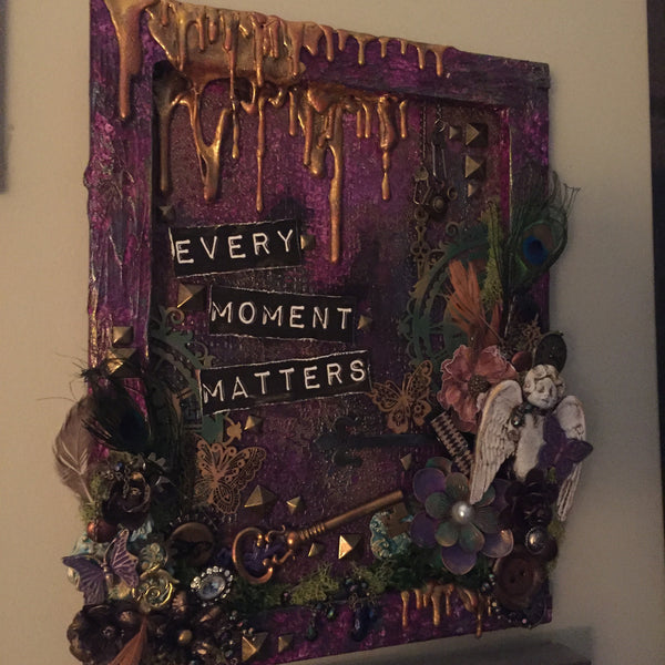 Every Moment Matters - Canvas