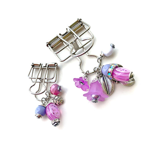 Sweet Lilac Binder Clips
