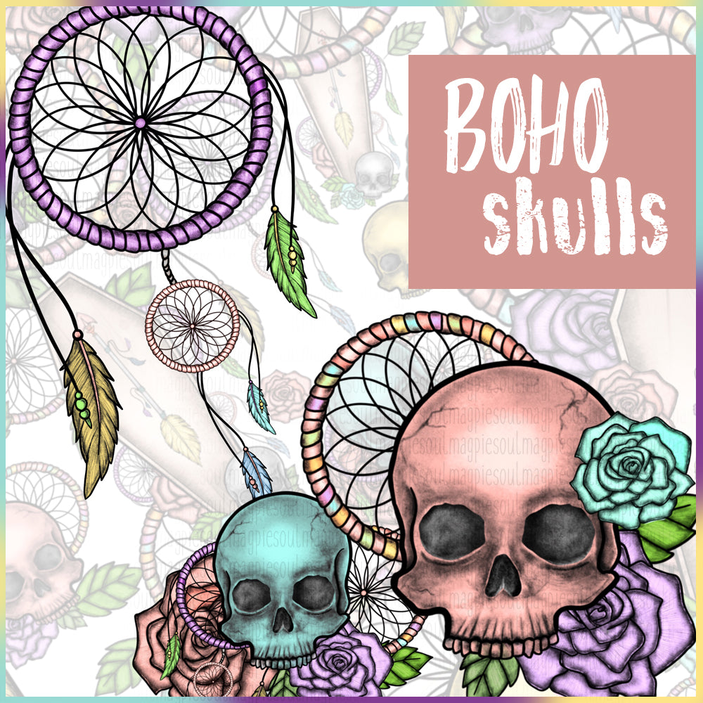 BOHO SKULL COLLECTION