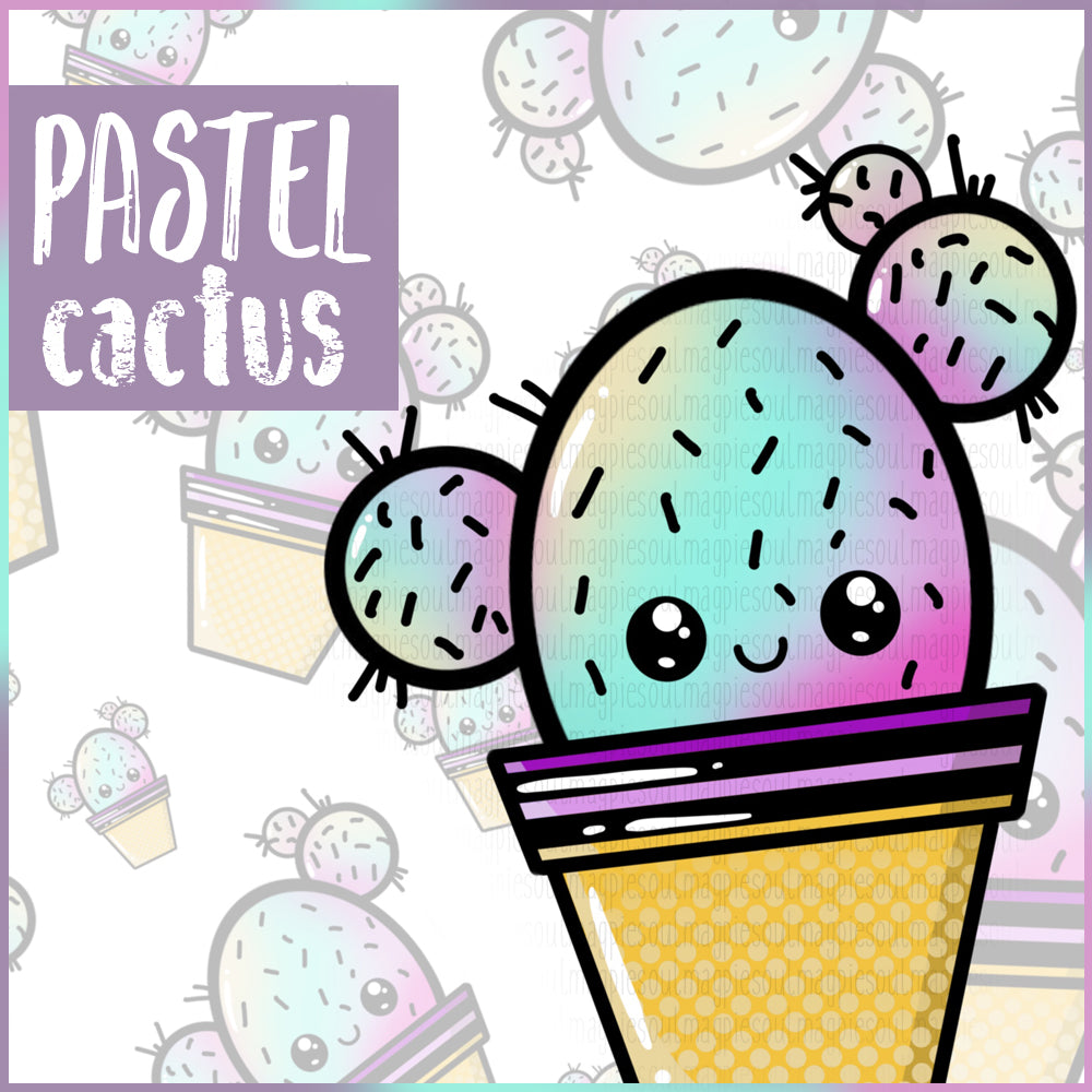 PASTEL CACTUS COLLECTION