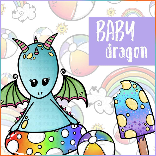 BABY DRAGON PRINTABLES