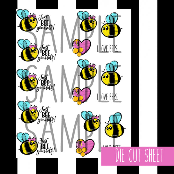 BEE YOURSELF PRINTABLES