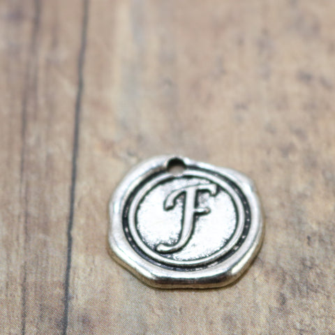 Faux Wax Seal Letter - F