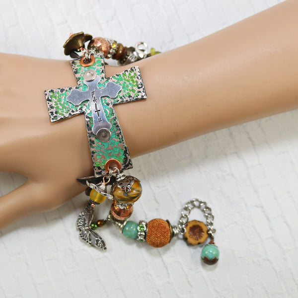 faith jewelry sideways cross