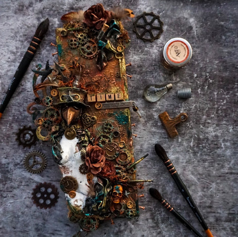 Steampunk Imagination Canvas