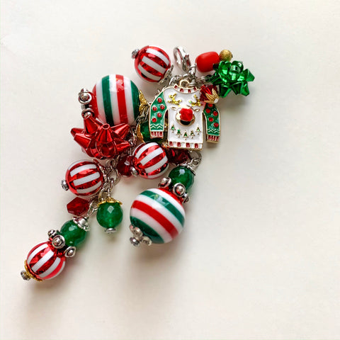 Christmas Sweater Charm Clip